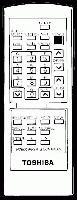 TOSHIBA 23120426 Remote Controls