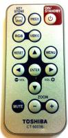 TOSHIBA ct90038 Remote Controls