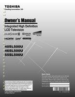 TOSHIBA 40sl500uom Operating Manuals
