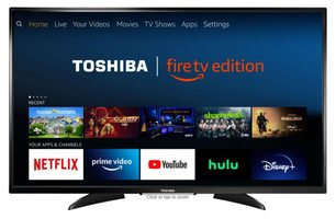 TOSHIBA 43led2160p TVs