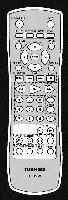 TOSHIBA ser0069 Remote Controls