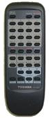 TOSHIBA vc734 Remote Controls