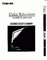 TOSHIBA cx35d60om Operating Manuals