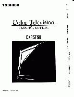 TOSHIBA cx35f60om Operating Manuals