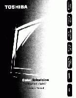 TOSHIBA cz32v61om Operating Manuals
