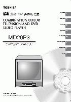 TOSHIBA md20p3om Operating Manuals