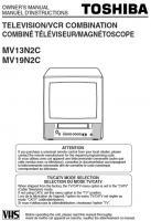 TOSHIBA mv13n2com Operating Manuals