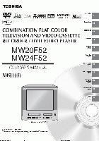 TOSHIBA mw20f52,mw24f52om Operating Manuals
