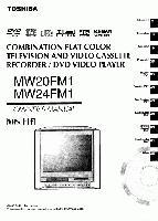 TOSHIBA mw20fm1 mw24fm1om Operating Manuals