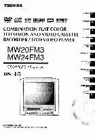 TOSHIBA mw20fm3 mw24fm3om Operating Manuals