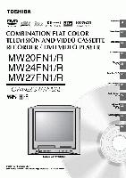 TOSHIBA mw20fn1om Operating Manuals