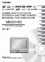 TOSHIBA mw26h82om Operating Manuals