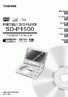 TOSHIBA sdp1500om Operating Manuals