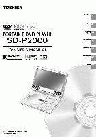 TOSHIBA sdp2000om Operating Manuals