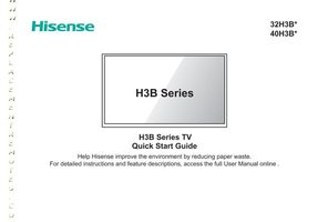 HISENSE 50h6dom Operating Manuals