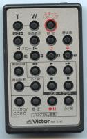 Victor rmv717 Remote Controls