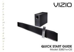 VIZIO xrs321com Operating Manuals