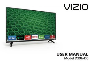 VIZIO d39hc0om Operating Manuals