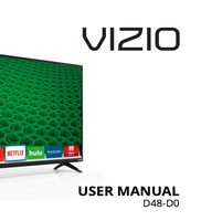 VIZIO d48d0om Operating Manuals