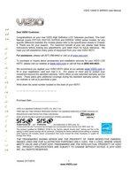 VIZIO e371vaom Operating Manuals