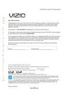 VIZIO e371vlom Operating Manuals