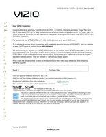 VIZIO E420VLOM Operating Manuals
