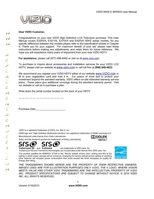 VIZIO e series 60hzom Operating Manuals