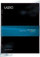 VIZIO m221nvom Operating Manuals