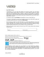 VIZIO m420vtom Operating Manuals