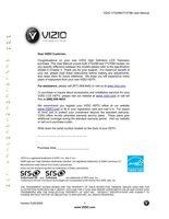 VIZIO vt420mom Operating Manuals