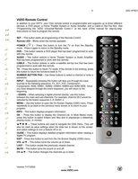 VIZIO vur8mom Operating Manuals