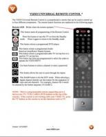 VIZIO vur8om Operating Manuals