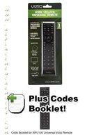 VIZIO xru100 code book onlyom Operating Manuals