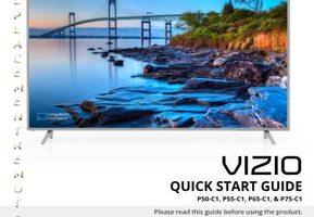 VIZIO xr6p10 xr6m10 setup instructions Operating Manuals