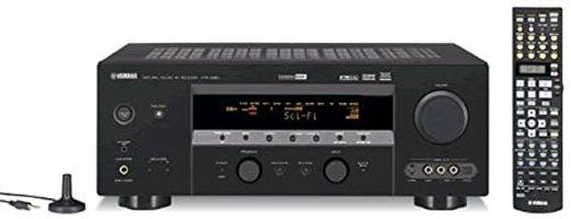 YAMAHA htr5890bl Audio/Video Receivers