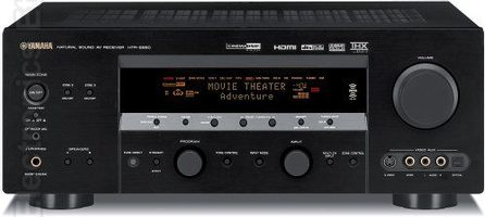 YAMAHA htr599d Audio/Video Receivers