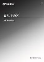 RXV465OM