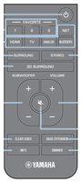 YAMAHA vah0130 Remote Controls