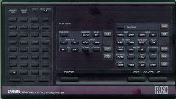 YAMAHA VG808000 Remote Controls