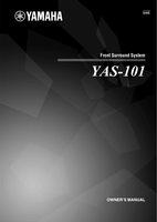 YAMAHA yas101om Operating Manuals