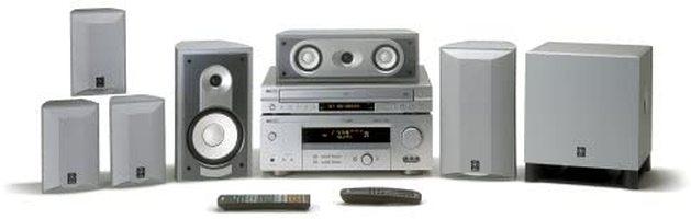 YAMAHA yht755 Audio/Video Receivers