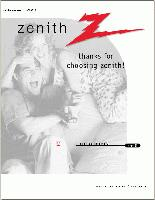 ZENITH a09p02xom Operating Manuals