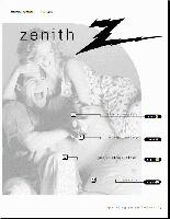ZENITH b27b40zom Operating Manuals