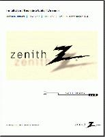 ZENITH h19e34yom Operating Manuals
