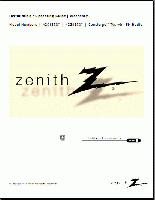 ZENITH h20e35dtom Operating Manuals