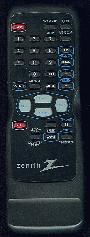 ZENITH zen501 Remote Controls