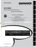 Magnavox ZV427MG9AVCROM Operating Manuals