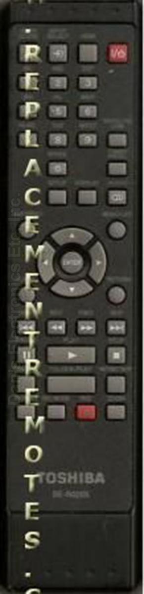 TOSHIBA P000483240 Digital Video Recorder (DVR) Remote Control