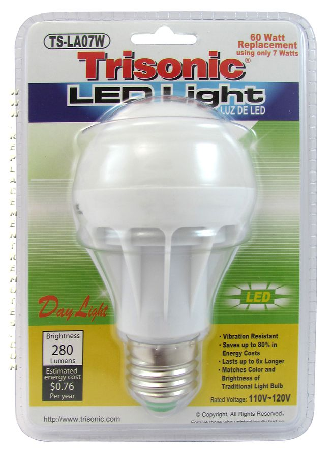 60 Watt Equivalent Day Light