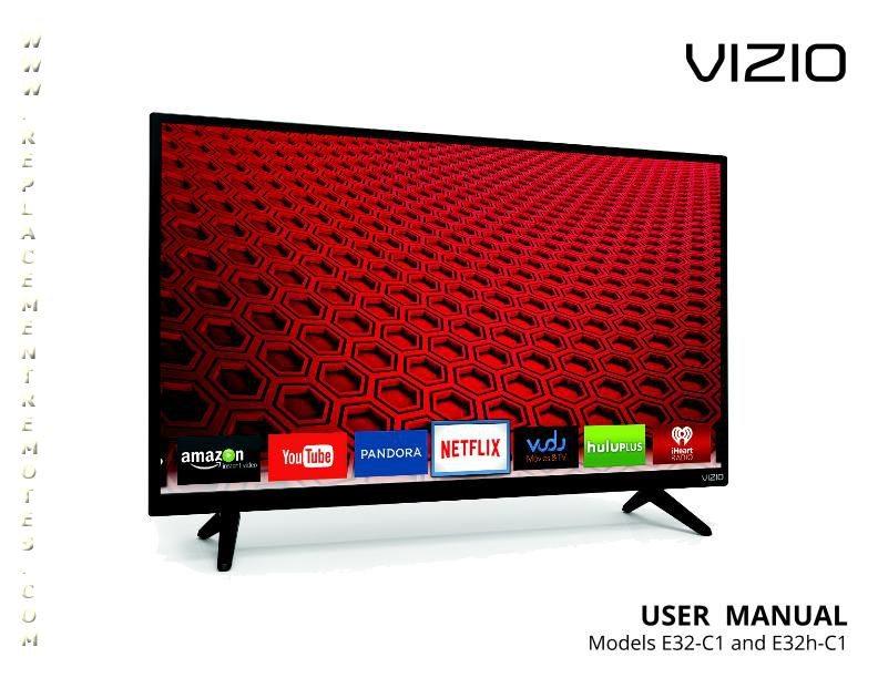 download free vizio xrt122om d24 d1 d28h d1 d32 d1 operating manual rh replacementremotes com Vizio TV Dimensions Vizio TV Service Manuals